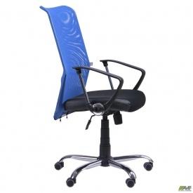 Крісло АЕРО HB сидіння Сітка чорна Неаполь N-20/спинка Сітка синя