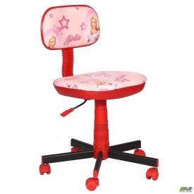 Крісло дитяче Кіндер Girlie пластик червоний