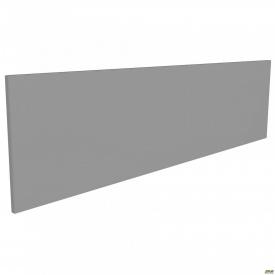 Перегородка М312 АртМобил 1850х18х400 мм сірий/кромка сірий металік