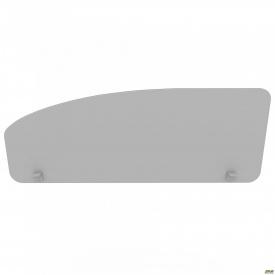 Перегородка М282 АртМобил 1200х18х450 мм сірий/кромка сірий металік
