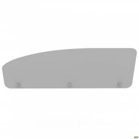 Перегородка М284 АртМобил 1400х18х450 мм серый/кромка серый металлик