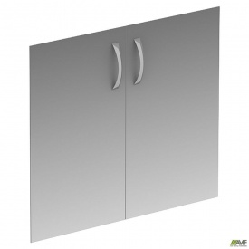 Двери стеклянные МГ-803 796х702 мм