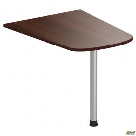 Стол приставной МГ-312 (1000х800х750мм) орех темный