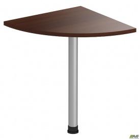 Стол приставной МГ-316 (600х600х750мм) орех темный