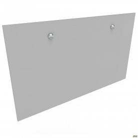 Перегородка М311-2 АртМобил 1850х18х860 мм серый/кромка серый металлик