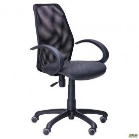 Кресло Oxi/АМФ-5 сиденье Квадро-02/спинка Сетка черная