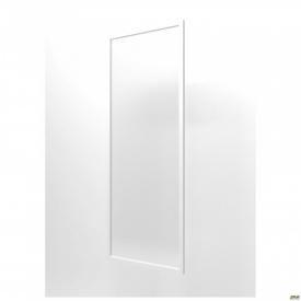 Фасад скло Delta DL-711 R 426х1174 мм профіль білий