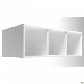 Полиця-надставка двостороння Delta DL-521 1100х620х384мм Білий базовий