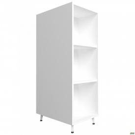 Пенал книжный двухсторонний Delta DL-621 (384х620х1185мм) Белый базовый/Опора белый беж
