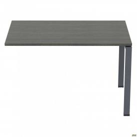 Стол приставной с укороченными перемычками SIG-106 (1000х800х750мм) Черный графит 60х30мм Морское д