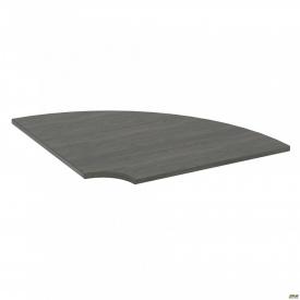 Стол сегмент SIG-110 950х950х25 мм Морское дерево Карбон