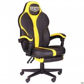 Крісло VR Racer Edge Throne чорний/жовтий