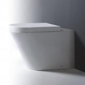 Унітаз Imex Arco підлоговий санфарфор 360 х 390 х 520 мм