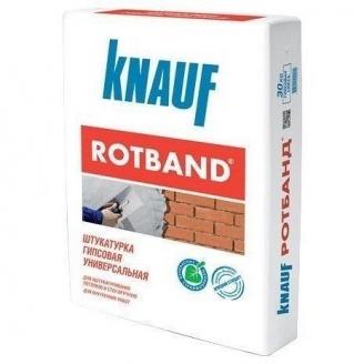 Штукатурка гипсовая универсальная Knauf Rotband 15 кг