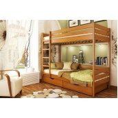 Кровать деревянная 2х-ярусная Дуэт ТМ Эстелла