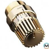 Термостатична головка Oventrop Uni LH М 30x1,5 позолочений з кільцем декор