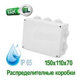 Распределительная коробка 150x110x70 Такела IP65