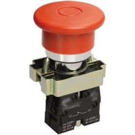 Кнопка управління XB2-ВС42 червоний стоп