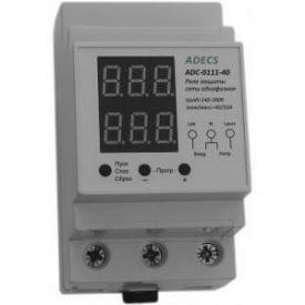 Реле контролю напруги і струму Adecs ADC-0111-40