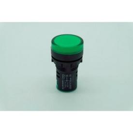Светодиодный индикатор AD22-22DS 240v АC/DC зеленый