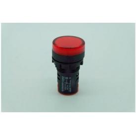 Светодиодный индикатор AD22-22DS 240v АC/DC красный