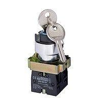Кнопка управління поворотна з ключем XB2-BG45 Старт/Стоп