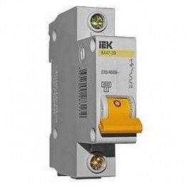 Автоматичний вимикач ВА47-29 1P 10А 4,5 кА ІЕК