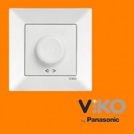 Светорегулятор 1000W RL поворотный VIKO Meridian Белый