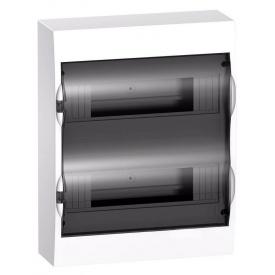 Щит распределительный навесной Schneider Electric Easy9 на 24 модуля IP40 белый двери прозрачные