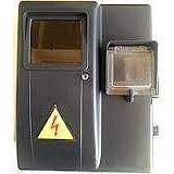 Бокс обліку пластиковий КДЕ - 1ф електронний