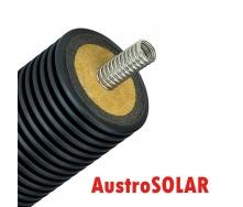 Одинарная изолированная гофрированная труба Austrosolar MCS 50 мм наружный диаметр 175 мм