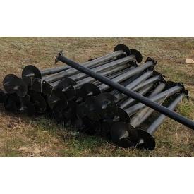 Свая винтовая ПГ108 3,5х2500 мм 300 мм антикоррозийное покрытие