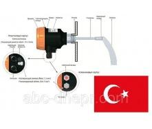 Ротаційний сигналізатор рівня сипучих серії ELF