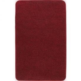 Термоковрик электрический Теплик 50х80 двухсторонний темно-красный