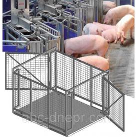 Весы для взвешивания животных 1000 кг