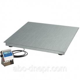 Весы платформенные 1.5х1.5 м из нержавеющей стали