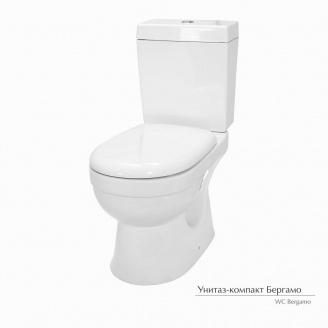 Унитаз-компакт Керамин Беграмо с жестким сиденьем с микролифтом