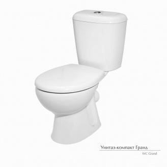 Унитаз-компакт Керамин Гранд с жестким сиденьем