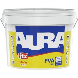 Клей ПВА Aura Fix PVA 1 10 л
