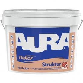 Фактурная краска Aura Dekor Struktur 10 л