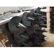 Паля гвинтова ПГ89 3,5х3000 мм 300 мм антикорозійне покриття