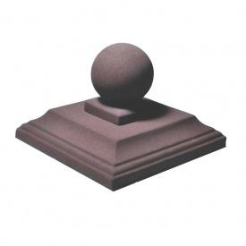 Шляпа шар 50х50 см Західтрансбуд коричневый