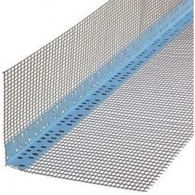 Профиль ПВХ THERMOMASTER PVC 10+10 с сеткой для внешних углов 2,5 м
