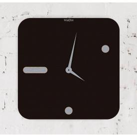 Часы настенные WallArt Square черные (WA_Squ_0003)
