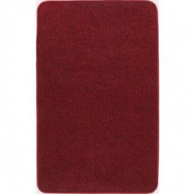 Термоковрик электрический Теплик 50х100 с термоизоляцией темно-красный