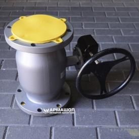 Кран шаровый фланцевый LD стандартнопроходной Ду 150/125 с редуктором