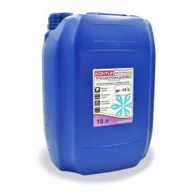 Противоморозная добавка для готовых штукатурных и клеевых смесей KONTUR-ANTIFREEZE 10 л