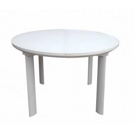Стіл обідній DAOSUN DT-8107 білий