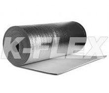 Листовая рулонная теплоизоляция самоклейка K-Flex РЕ METAL AD 03мм х1000х30 вспененный полиэтилен