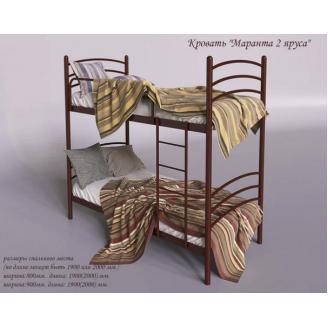 Двох`ярусне ліжко Маранта Tenero 800х2000 мм розбірна метал